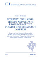 International Megatrends And Growth Prospects Of The Finnish Bio  International Megatrends And Growth Prospects Of The Finnish Biotechnology  Industry  Essays
