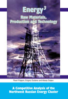 Energy3 : Raw Materials, Production, Technology; Competitive Analysis of Northwest Russian Energy Cluster - B197