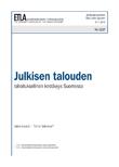 Julkisen talouden rahoituksellinen kestävyys Suomessa - dp1237
