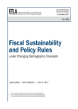 Fiscal sustainability and policy rules under changing demographic forecasts - dp1265