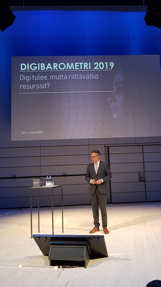 Suomi MM-pronssilla digitalisaation hyödyntäjänä – riittävätkö resurssit digitalisaation edistämiseen?