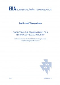 Diagnosing the Growing Pains of a Technology-Based Industry. An Examination of the Finnish Biotechnology Industry in Light of Empirical Economics. - A47