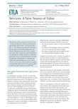 Services: A New Source of Value - ETLA-Muistio-Brief-11
