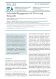 Industrial Engagement of University Research - ETLA-Muistio-Brief-20