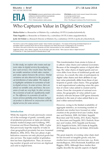 Who Captures Value in Digital Services? - ETLA-Muistio-Brief-27