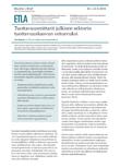 Tuottavuusmittarit julkisen sektorin tuottavuuskasvun vetoavuksi - ETLA-Muistio-Brief-33