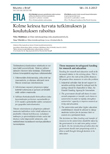 Three Measures to Safeguard Funding for Research and Education - ETLA-Muistio-Brief-58
