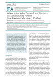 Where is the Value Created and Captured in Manufacturing Firms? Case Precision Machinery Product - ETLA-Muistio-Brief-9