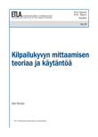 Theory and Measurement of Competitiveness - ETLA-Raportit-Reports-15