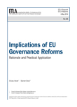 Implications of EU Governance Reforms: Rationale and Practical Application - ETLA-Raportit-Reports-25