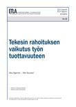 The Impact of R&D Subsidies on Labor Productivity - ETLA-Raportit-Reports-35