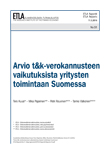 A Study on the Finnish R&D Tax Credit of the Years 2013–2014 - ETLA-Raportit-Reports-51