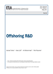 Offshoring R&D - ETLA-Raportit-Reports-52
