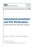 International Investment and Firm Performance: Empirical Evidence from Small Open Economies - ETLA-Raportit-Reports-6