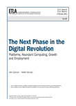 The Next Phase in the Digital Revolution: Platforms, Abundant Computing, Growth and Employment - etla-raportit-reports-61