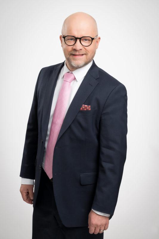 Etlan toimitusjohtaja Aki Kangasharju