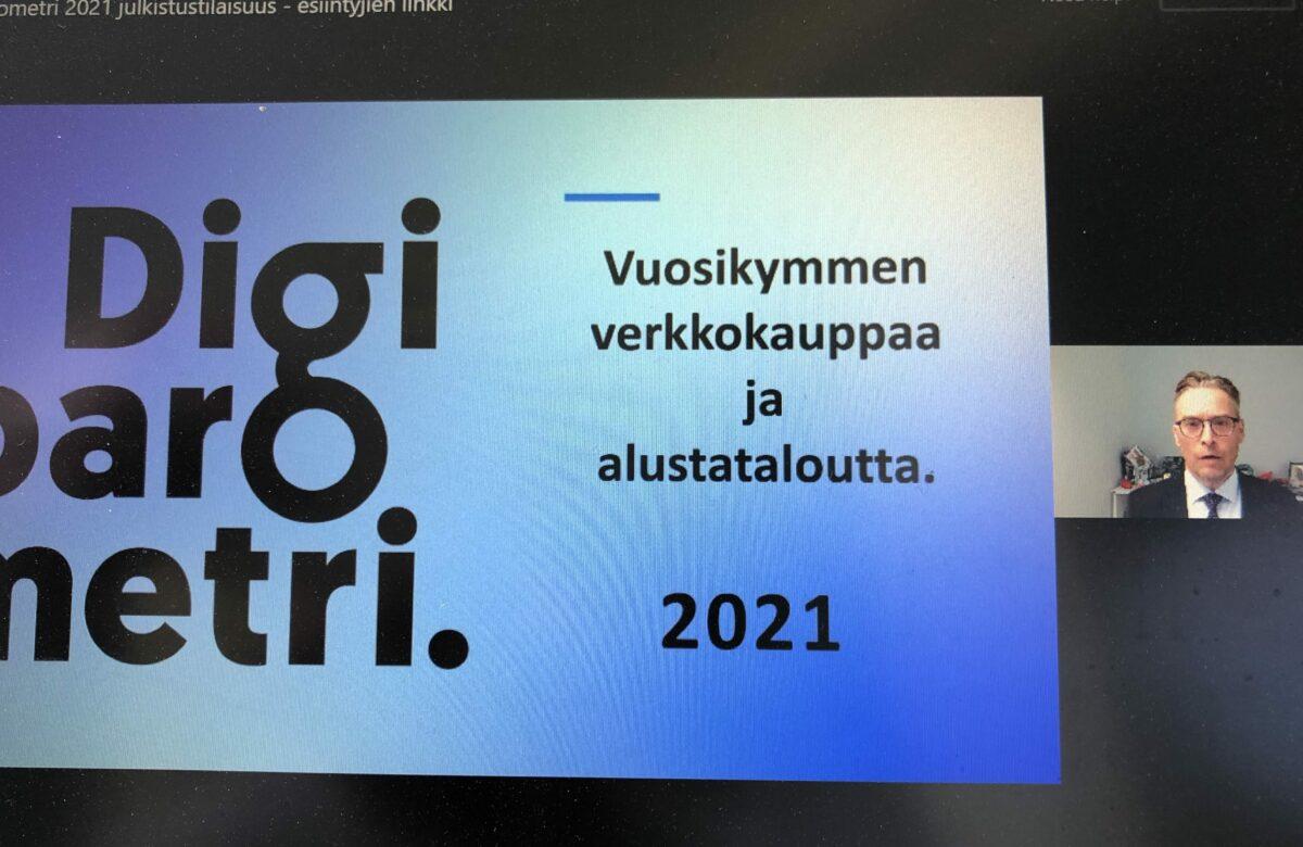 Digibarometri 2021 keskittyi kotimaisen verkkokaupan haasteisiin