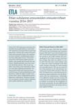 Etlan suhdanne-ennusteiden ennustevirheet vuosina 2014–2017 - ETLA-Muistio-Brief-63