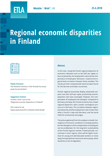 Regional Economic Disparities in Finland - ETLA-Muistio-Brief-68