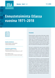Forecasting Activity at Etla in 1971–2018 - ETLA-Muistio-Brief-69