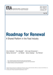 Roadmap for Renewal: A Shared Platform in the Food Industry - ETLA-Raportit-Reports-74