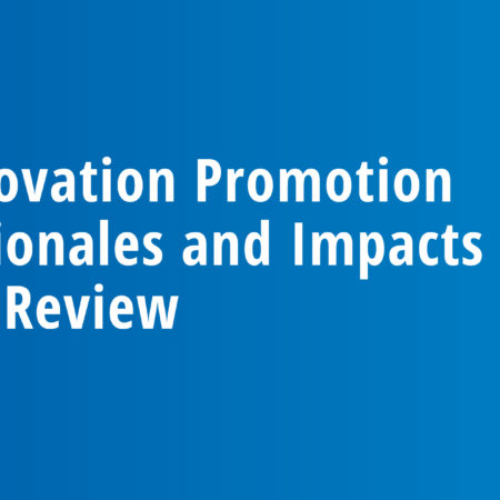 Innovation Promotion Rationales and Impacts – A Review