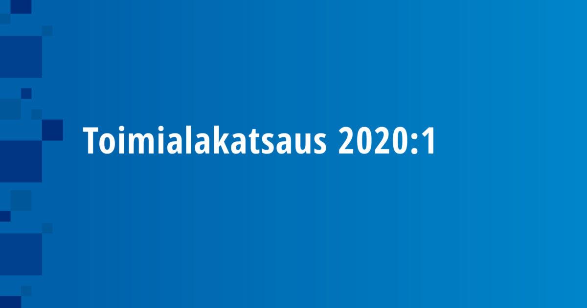 Toimialakatsaus 2020:1