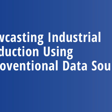 Nowcasting Industrial Production Using Uncoventional Data Sources