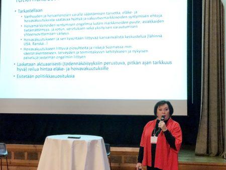 Professori Marja Vaarama, Itä-Suomen yliopisto