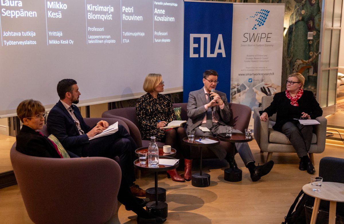 Digitaalinen työnvälitys yhä vaatimatonta Suomessa, mutta käyttäjät tyytyväisiä virtuaalisiin työmarkkinoihin
