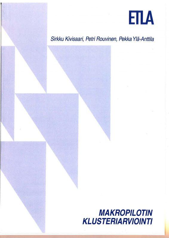 Makropilotin klusteriarviointi - etla_c79