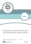 Convergence, income distribution, and the economic crisis in Europe - ETLA-Working-Papers-14