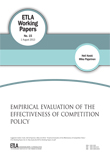 Empirical Evaluation of the Effectiveness of Competition Policy - ETLA-Working-Papers-15