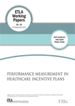 Performance Measurement in Healthcare Incentive Plans - ETLA-Working-Papers-18