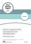 Service productivity, technology and organization – Converting theory to praxis - ETLA-Working-Papers-26