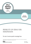 Mobility of ideas for innovation: The role of inventor-specific knowledge flows - ETLA-Working-Papers-27