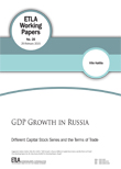 GDP Growth in Russia: Different Capital Stock Series and the Terms of Trade - ETLA-Working-Papers-28