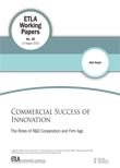 Commercial success of innovation: the roles of R&D cooperation and firm age - ETLA-Working-Papers-30