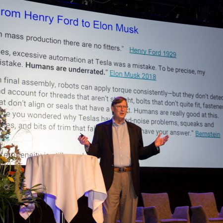 Technology changes future jobs – Google's Hal Varian as Etla's guest