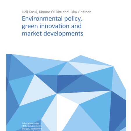 Environmental Policy, Green Innovation and Market Developments