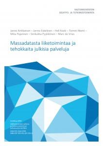 Massadatasta liiketoimintaa ja tehokkaita julkisia palveluja - vnk_raportti_2016_16