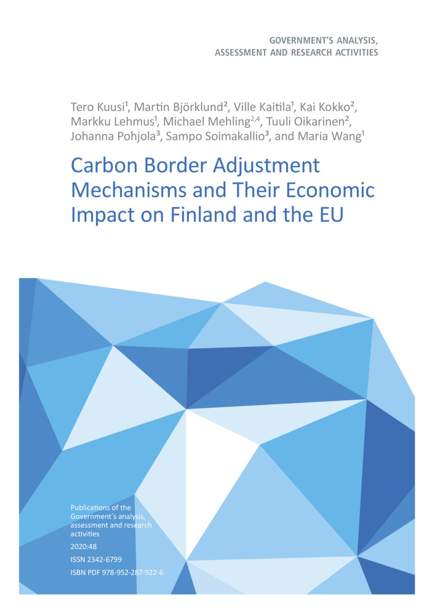 Carbon Border Adjustment Mechanisms and Their Economic Impact on Finland and the EU